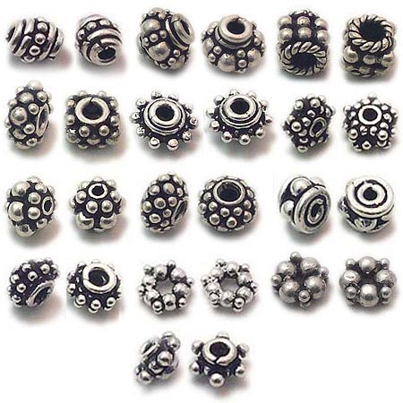 Exporter Of Silver Beads