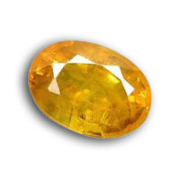 Virgo  Bithstone Yellow Sapphire - Yellow Sapphire Bithstone Zodiac Month : August