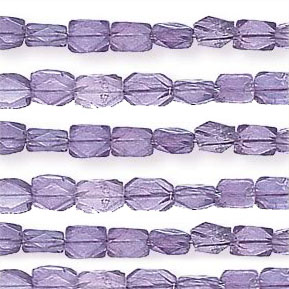 Brazil Amethyst Beads Rectangle Faceted Shape And Size 7x5 mm