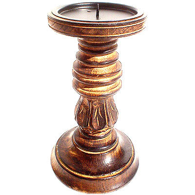 Wooden Candle Statnd
