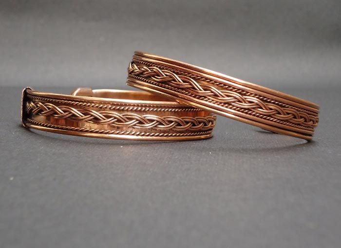Adjustable Bracelets - Adjustable Copper Bracelets