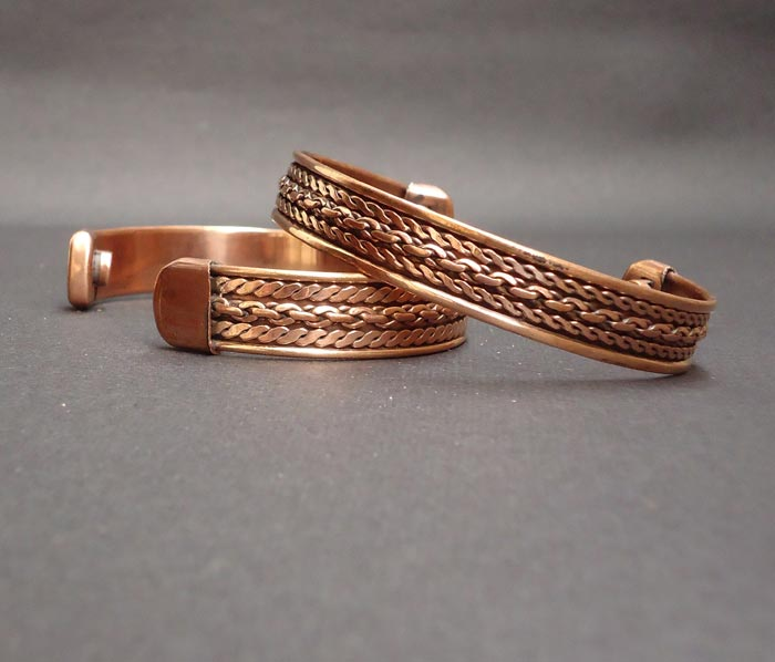 Copper Bracelets Exporter - Exporter Of Copper Bracelets