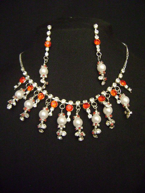 Lovely  Costume Necklace Set at very affordable price