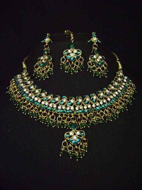 Carved Elegantly With Exquisite Workmanship Costume Necklace Set at very affordable price