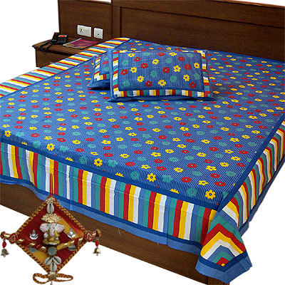 Pure Cotton Double Bed Sheets
