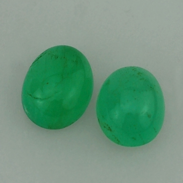Emerald Store - Emerald Gemstone - Emerald Oval Cab 10X7 mm