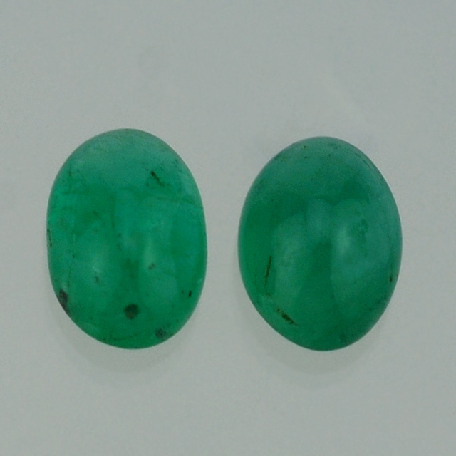 Dealer Of Emerald - Emerald Gemstone - Emerald Oval Cab 7X8 mm