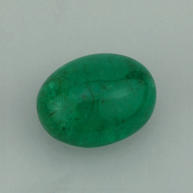 Online Store For Emerald - Emerald Gemstone - Emerald Oval Cab 9X7 mm