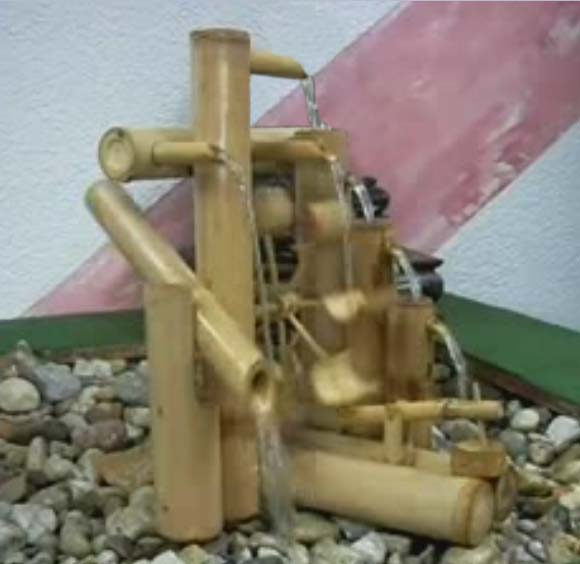 Nature In Your Home Use Bamboo Fountain from india