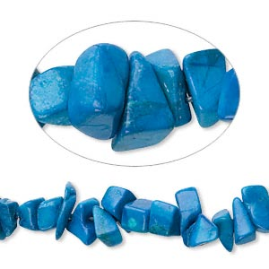 Howlite Turquoise Chips Exporter