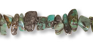 African Turquoise Chips Dealer