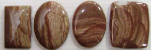 Picture agate Gemstones Lot - Gemstones Lot Sweden