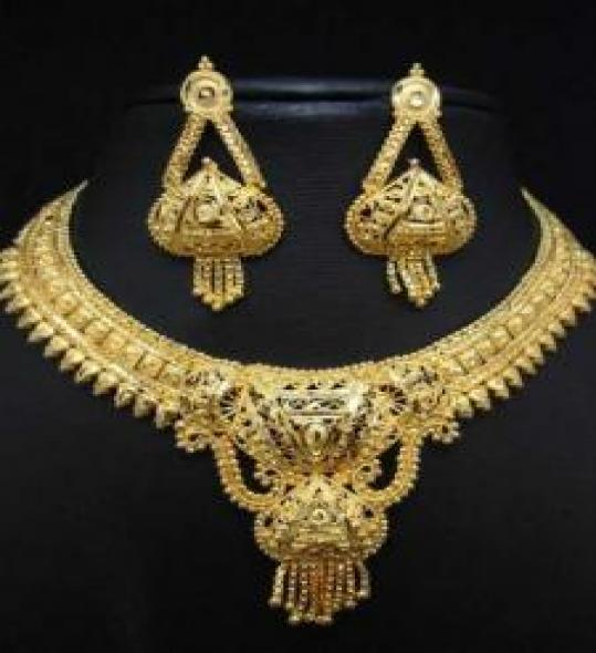 Nice Gold Plated Jewelry Set
