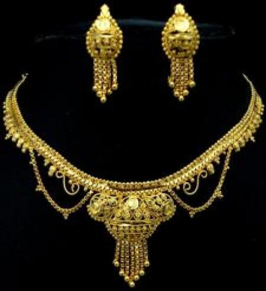 Affordable Gold Plated Jewelry Set