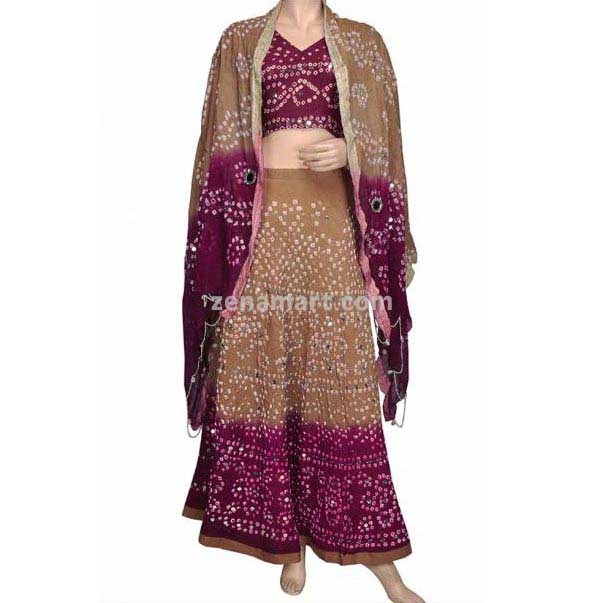 Bandhej Lehenga Choli - Lehenga Choli In Tanzania - Lehenga Choli Supplier In Tanzania