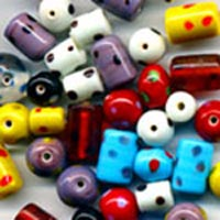 Standard spotty glass bead mix