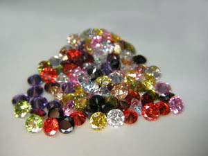 Color Cubic Zirconia  Gemstone Lot - Cubic Zirconia Wholesale Lot