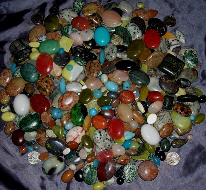 Cabochon Gemstone Lot - Wholesale Gemstone Lot USA