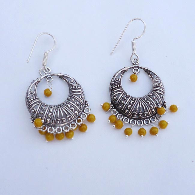 Plain Bali Traditional Indian Earrings