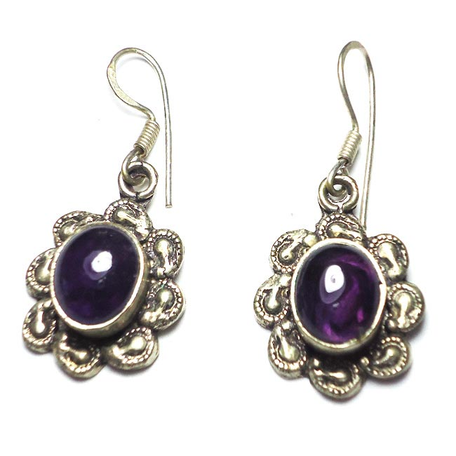 Amethyst Gemstone Earrings