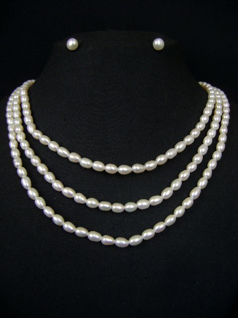 Nice Pearl Necklace Set at very affordable price