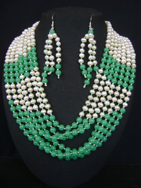 Affordable Pearl Necklace Set at very affordable price