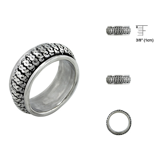 Plain Silver Rings With Pure 925 Silver