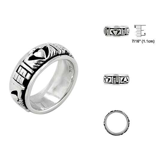 925 Plain Silver Ring For Gifts