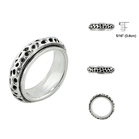 Silver Ring For Man With 925 Silver