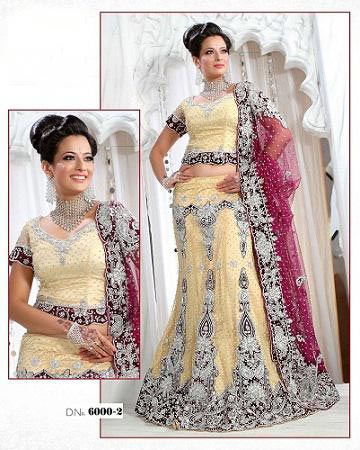 Wedding Lehenga Choli - Wdding Lehenga With Choli For Bride