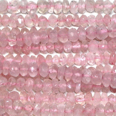 Wholesale Rose Quartz Beads - Rose Quartz Gemstone Beads Lots