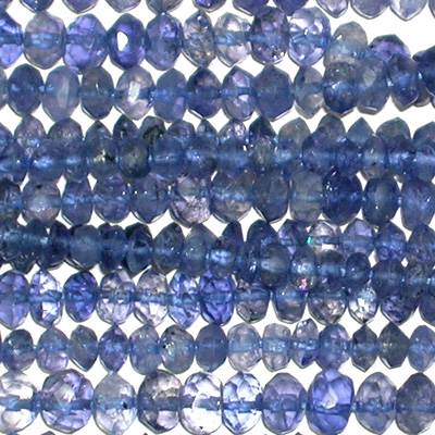 Wholesale Gemstone Beads United Kingdom - Iolite Gemstone Beads Wholesale Lot