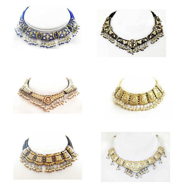 Necklace Sets Lot - Lakh/ Lac Jewelry Wholesaler