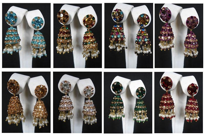 Lac Earrings - Wholesale Lac Earrings Lots 12 Pcs Lot
